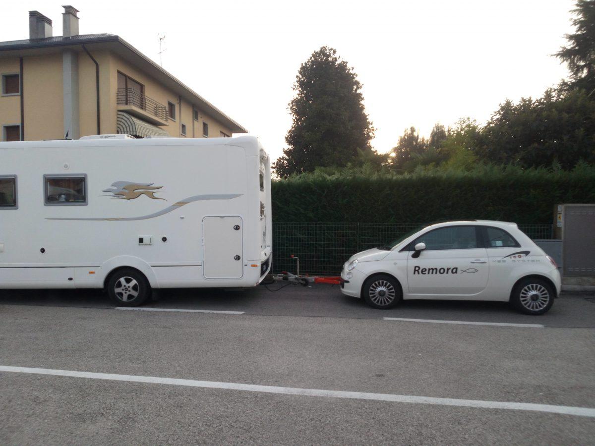 Camper + auto con patente B