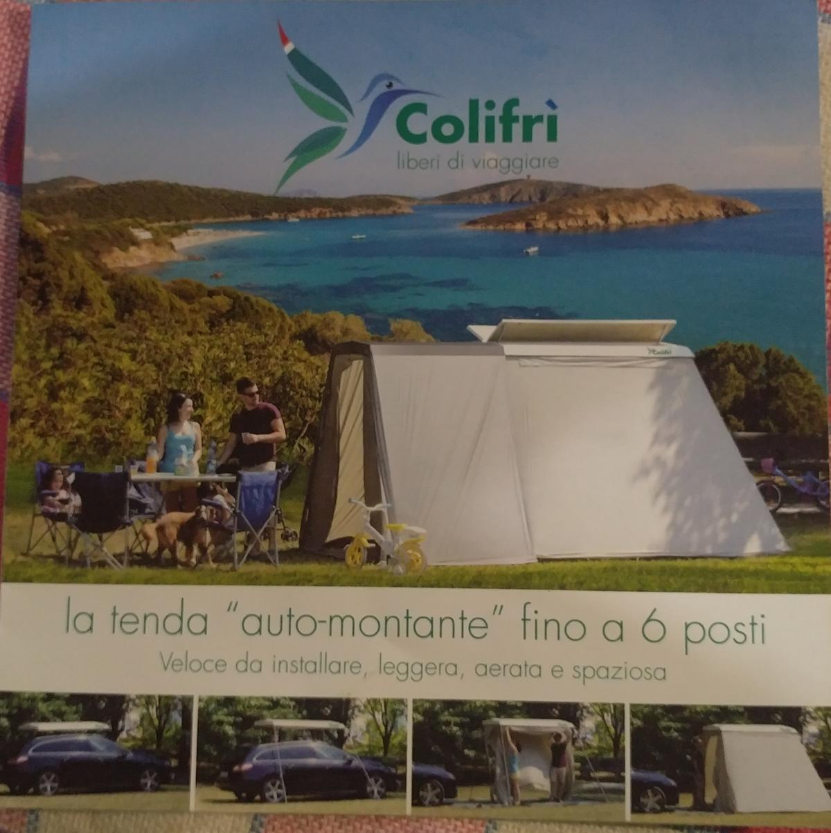 Colifrì: la tenda pronta in 10 minuti