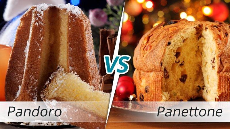 Panettone o Pandoro, il derby di Natale
