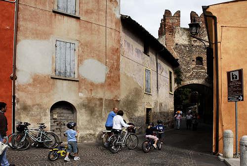 In bici dal Garda a Mantova