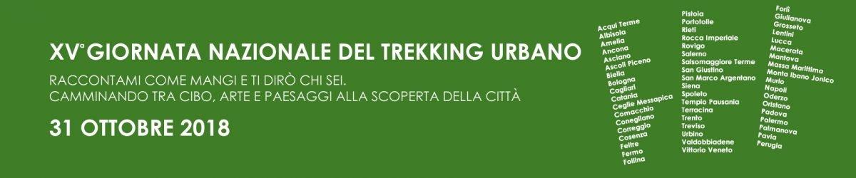 XV giornata del Trekking Urbano: a zonzo per le città