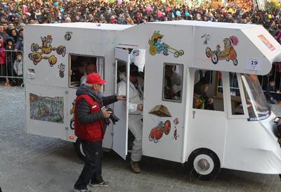 Raduni in camper a Carnevale