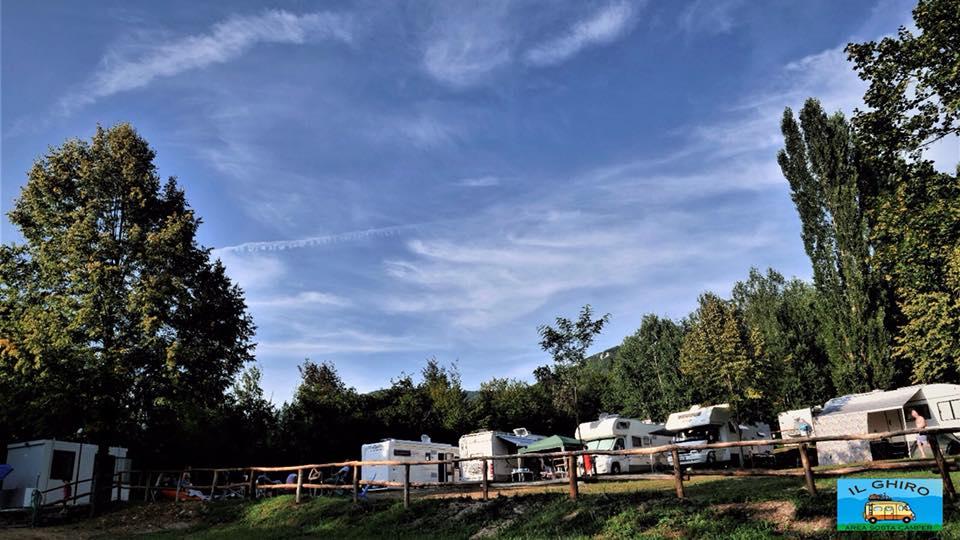 Il Ghiro: area camper San Pietro (Rieti)