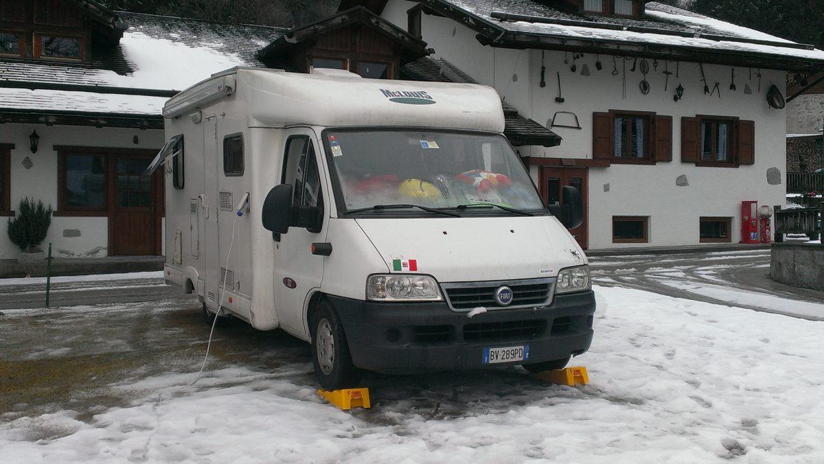 Il camper in inverno: 5 consigli da mettere in agenda