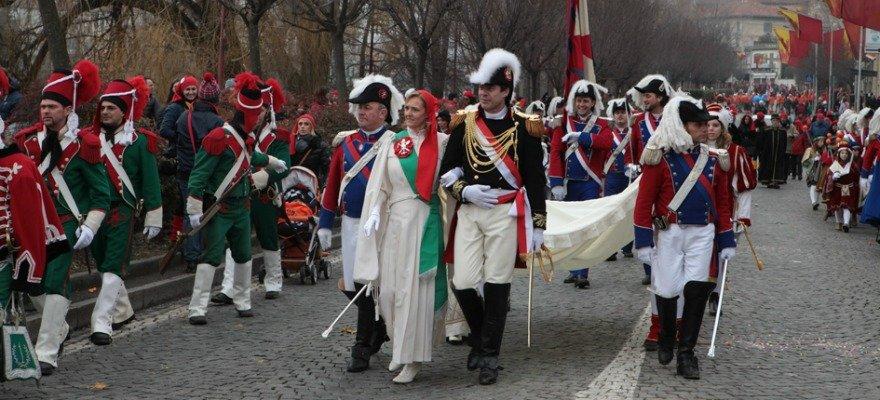 Carnevale di Ivrea (To) con Tanta Strada in Camper