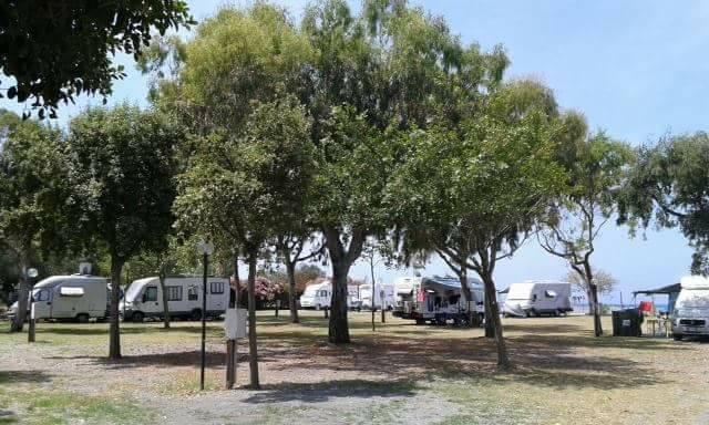 Camper Area Ulisse in Kalabrien. Folgen Sie mir