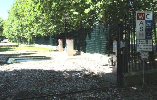 Area camper a Schiranna-Varese