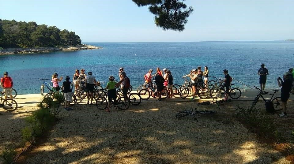 Isola di Lussino in bici
