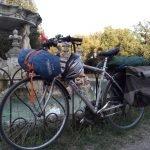 Tour colli romani in bici, luglio 2017
